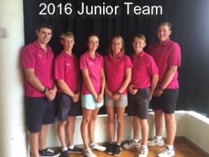 PMGC Junior Team 2016