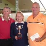 Mixed Fourball Matchplay [Ann McDonald Trophy] Paul & Rebecca Considine with Bob McDonald