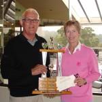 Bill Whitby Memorial Trophy. David & Jane Burgess