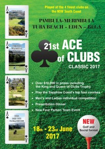 Final Ace of Clubs Classic 2017 Brochure Page 1