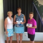 VWGNSW Tournament.  Winners ~ [L > R]: Div 3 Kerri Freeman [PMGC]; Div 1 Leanne Munt [PMGC] and  Div 2 Pamela Geddes [St.Michaels]